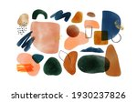 minimalist abstract watercolor...   Shutterstock .eps vector #1930237826