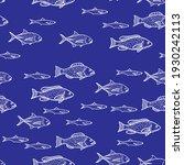 fish tuna seamless pattern in...   Shutterstock .eps vector #1930242113