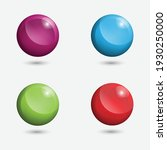 3d ball logo vector download | Shutterstock .eps vector #1930250000