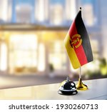gdr flag on the reception desk... | Shutterstock . vector #1930260713