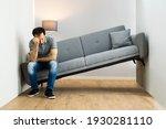 lack of space interior design... | Shutterstock . vector #1930281110