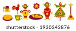 collection of bright icons for... | Shutterstock .eps vector #1930343876