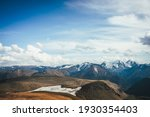 Colorful Alpine Scenery With...