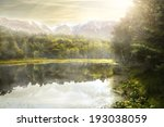 beautiful lake | Shutterstock . vector #193038059