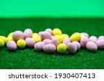 Colorful Yellow And Pink Easter ...
