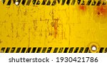 grungy blank and empty sign ... | Shutterstock .eps vector #1930421786