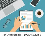flat design illustration of man ... | Shutterstock .eps vector #1930422359