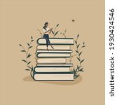 concept book is source of... | Shutterstock .eps vector #1930424546