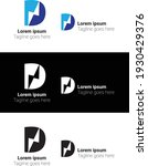 d letter logo with amazing...