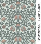floral vintage seamless pattern ... | Shutterstock .eps vector #1930466006