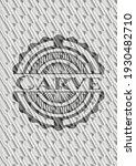 carve silver color emblem or... | Shutterstock .eps vector #1930482710