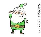 cartoon santa claus | Shutterstock . vector #193049174