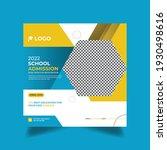 admission promotion social... | Shutterstock .eps vector #1930498616