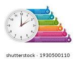 options infographics template.... | Shutterstock .eps vector #1930500110