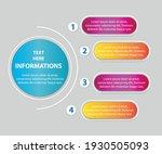 infographic design vector... | Shutterstock .eps vector #1930505093