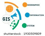 gis   geographic information... | Shutterstock .eps vector #1930509809
