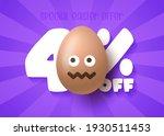 happy easter sale banner.... | Shutterstock .eps vector #1930511453