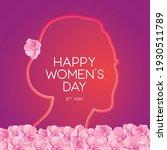 illustration of happy women's... | Shutterstock .eps vector #1930511789