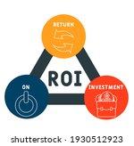 roi   return on investment... | Shutterstock .eps vector #1930512923
