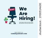 we are hiring. we are hiring... | Shutterstock .eps vector #1930514630