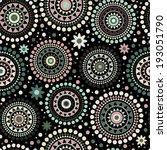 ethnic seamless pattern | Shutterstock .eps vector #193051790