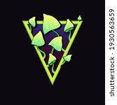 vector illustration green... | Shutterstock .eps vector #1930563659