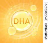 dha from omega 3 fatty acid...   Shutterstock .eps vector #1930567679