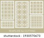 decorative panels set for laser ...   Shutterstock .eps vector #1930570673