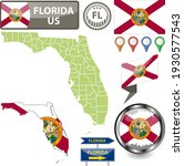 map of florida state  us with...   Shutterstock .eps vector #1930577543