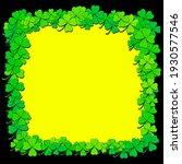 shamrock or clover background....   Shutterstock .eps vector #1930577546