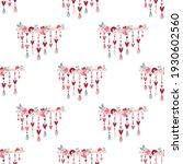 seamless pattern valentine's... | Shutterstock .eps vector #1930602560