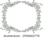 floral border from sketches...   Shutterstock .eps vector #1930602770