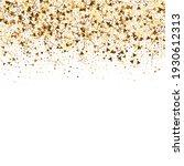 gold dot confetti on white...   Shutterstock .eps vector #1930612313