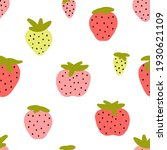 seamless pattern with cute red... | Shutterstock .eps vector #1930621109