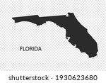 florida map vector  black color....   Shutterstock .eps vector #1930623680