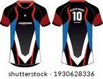 sports jersey t shirt design... | Shutterstock .eps vector #1930628336