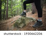 Stepping On A Rock During A...