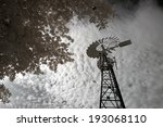 Old Farm Windmill From The...