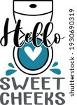 bathroom lettering. interesting ... | Shutterstock .eps vector #1930690319