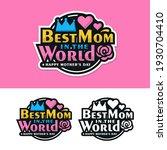 mother day label sticker design ... | Shutterstock .eps vector #1930704410