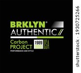 brooklyn authentic carbon...   Shutterstock .eps vector #1930725266