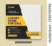 luxury home for sale social... | Shutterstock .eps vector #1930730456
