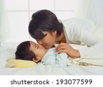 the image of baby | Shutterstock . vector #193077599