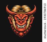 the devil monkey king head   Shutterstock .eps vector #1930786913