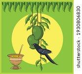 ugadi festival colour vector... | Shutterstock .eps vector #1930806830
