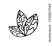 plant. house plant vector icon. ... | Shutterstock .eps vector #1930817069
