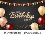 happy party birthday background ...   Shutterstock .eps vector #1930935836