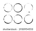 vector cup tracks and spots... | Shutterstock .eps vector #1930954553