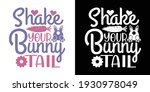 shake your bunny tail printable ...   Shutterstock .eps vector #1930978049