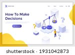landing page template with man...   Shutterstock .eps vector #1931042873